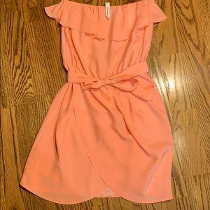 Amanda Uprichard Joan strapless dress Coral - S